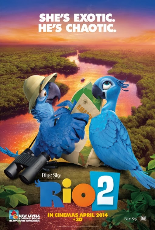 Movie Review: 'Rio 2′ Takes Us to the Amazon