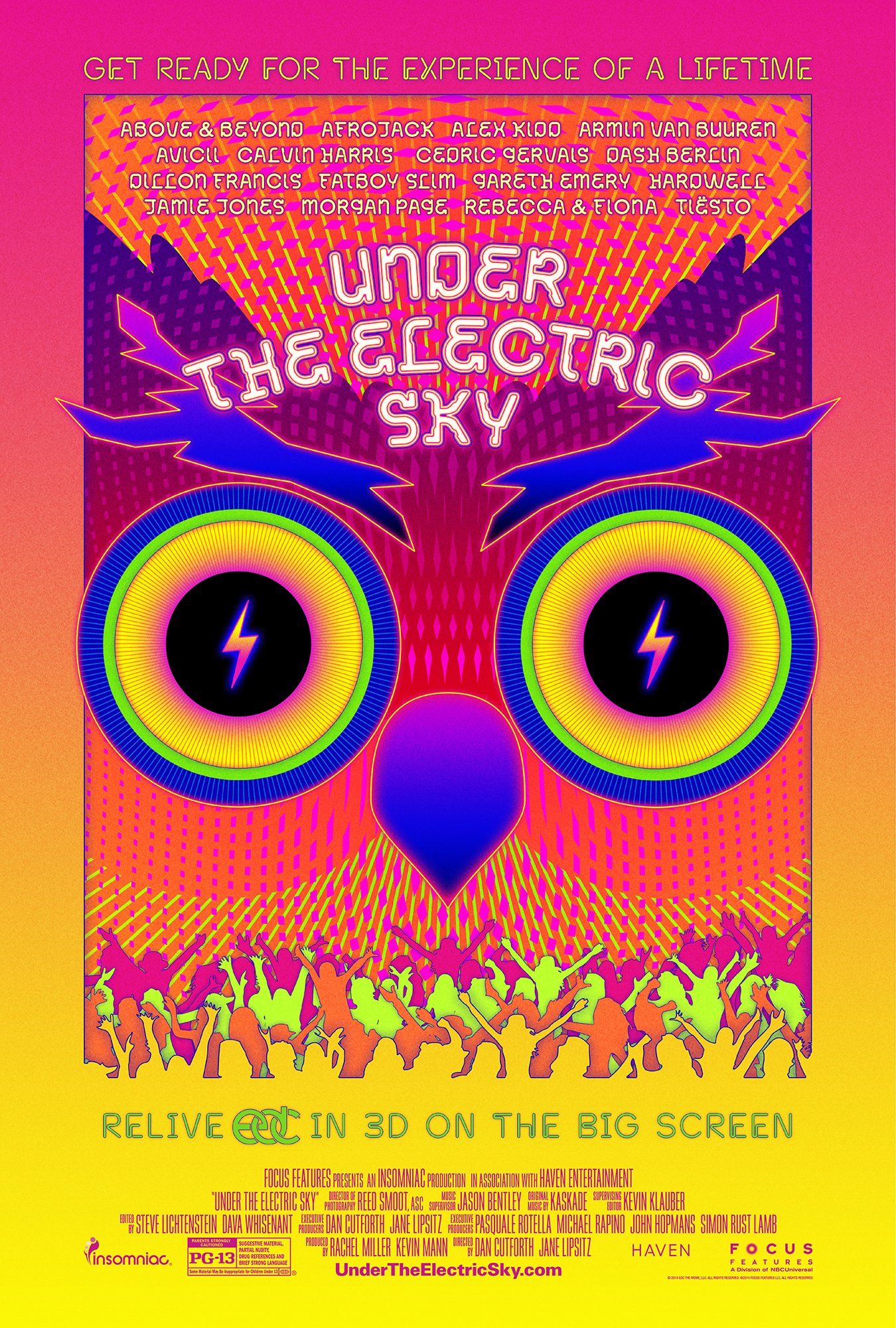 Movie Review: EDC Vegas Doc 'Under the Electric Sky'
