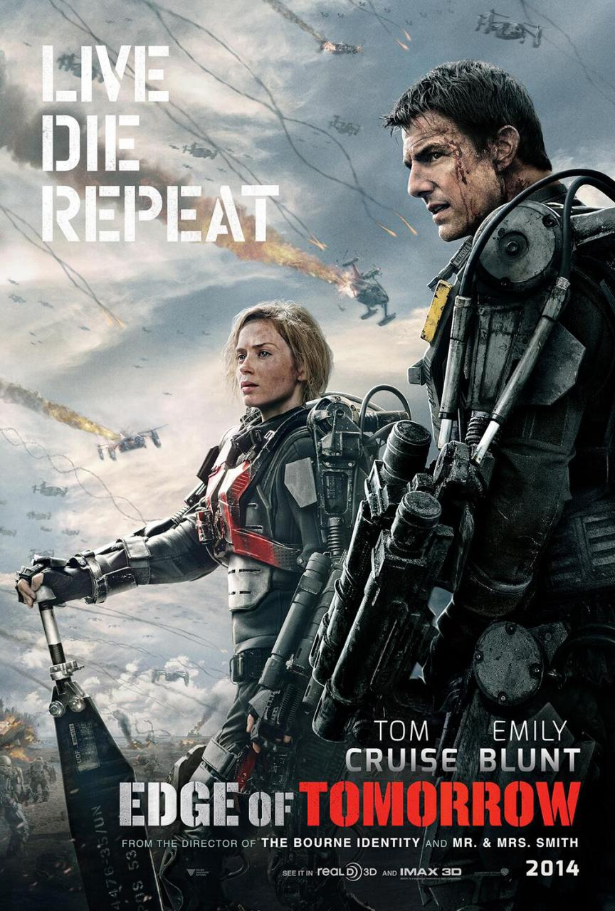 Movie Review: 'Edge of Tomorrow' – Live. Die. Repeat. Repeat. Repeat