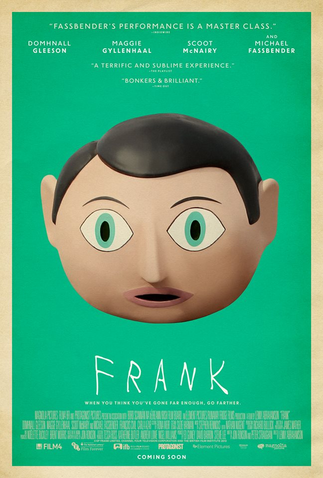 """Movie Review: 'Frank' is an Obscurely Brilliant Film that Should be on Everyone's """"Must-See"""" List"""