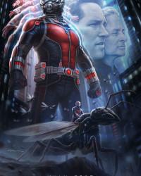 Marvel Mania at SDCC Reveals Some Cool Posters and Props from 'Ant-Man' and 'Avengers: Age of Ultron'
