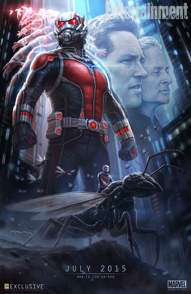 First Look at Paul Rudd in Marvel's 'Ant-Man' Shows Off Paul in a Hoodie