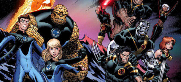 FantasticFourXMen 610x278 Is Marvel Planning to Sabotage Fox's Fantastic Four Reboot?