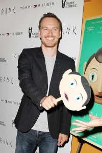 Michael Fassbender Frank Premiere 200x300 Michael Fassbender, Maggie Gyllenhaal and Lenny Abrahamson Talk Frank at the NYC Premiere