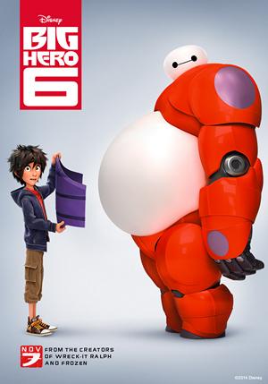 Big Hero 6 poster Big Hero 6 sắp sửa đổ xuống màn ảnh Việt Nam