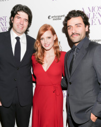 'A Most Violent Year' Red Carpet Interviews with Director J.C. Chandor and Star Jessica Chastain